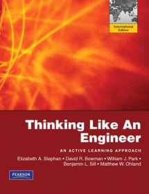 9780135102039-0135102030-Thinking Like an Engineer: International Version: An Active Learning Approach